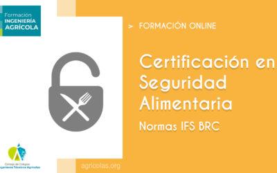 Curso Online 'Seguridad Alimentaria normas IFS BRC'