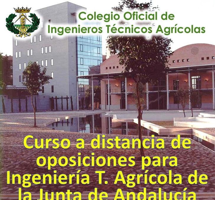 Curso 2020 de preparación Oposiciones al cuerpo de Ingeniería Técnica de la Junta de Andalucía